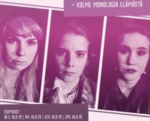Monomama - Kolme monologia elämästä