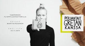 Perjantait Gretan kanssa 23.11.2019–18.1.2020 @ Tampereen Ylioppilasteatteri
